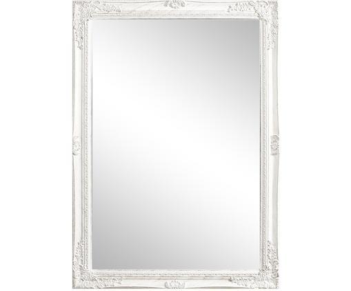 Miroir mural bois blanc Miro, Blanc