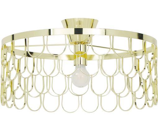 Design-Deckenleuchte Gatsby in Gold, Messing, Messing, Ø 50 x H 20 cm