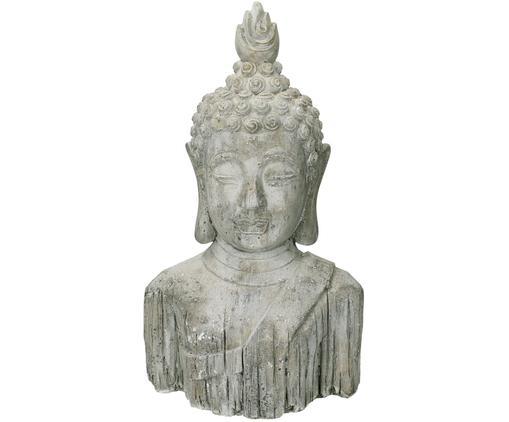Dekoracja Buddha, Beton, Szary, S 22 x W 37 cm
