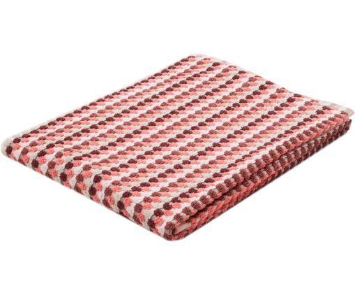 Telo bagno Vintage, Cotone, qualità media 500 g/m², Crema, rosa, borgogna, Larg. 70 x Lung. 140 cm