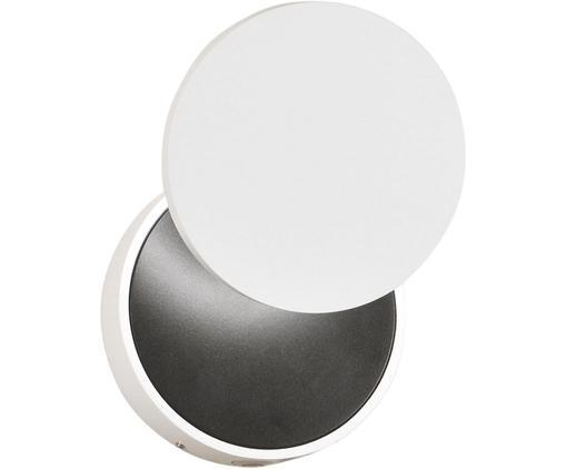 Dimmbare Wandleuchte Ara, Weiß, Schwarz, Ø 12 x H 18 cm