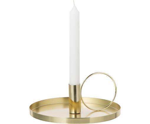 Candelabro dorato Gold, Metallo, Dorato, Ø 19 x A 8 cm