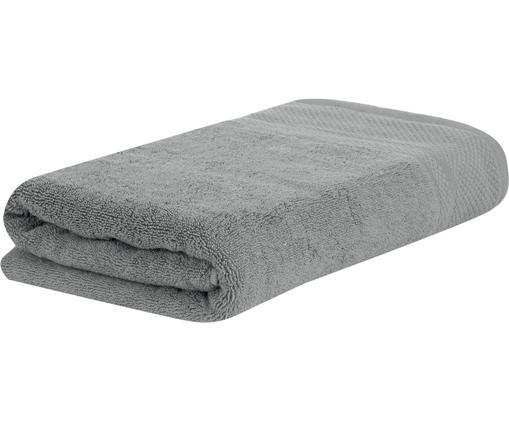 Telo bagno Premium, 100% cotone, qualità pesante 600g/m², Grigio scuro, Larg. 100 x Lung. 150 cm