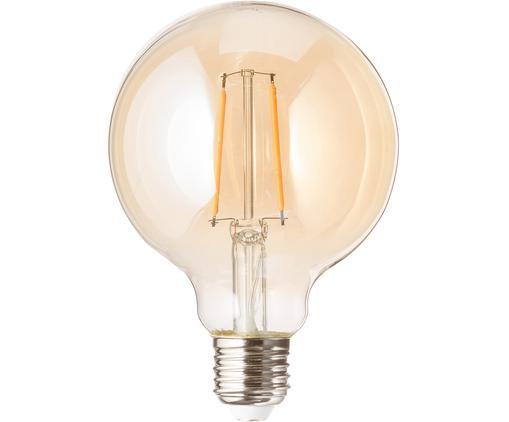 LED Leuchtmittel Rash (E27/1.2W), Leuchtmittelschirm: Glas, Leuchtmittelfassung: Aluminium, Bernsteinfarben, Ø 10 x H 14 cm