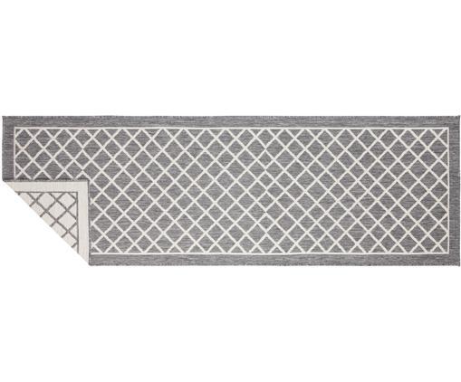 In- und Outdoor-Wendeläufer Sydney in Grau/Creme, Grau, Creme, 80 x 250 cm