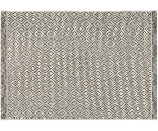 Alfombra de interior y exterior Capri, Gris, beige, An 140 x L 200 cm