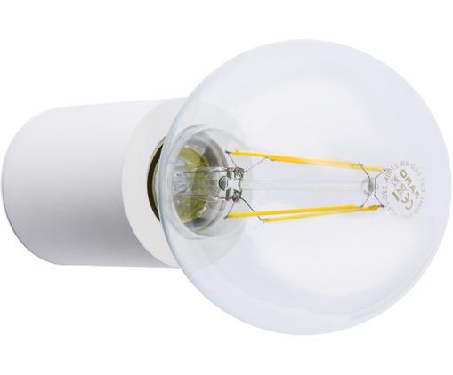 Applique dimmerabile senza lampadina Multi, Alluminio verniciato, Bianco, Ø 6 x Prof. 7 cm