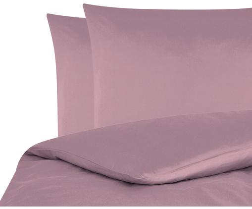 Baumwollsatin-Bettwäsche Comfort in Mauve, Webart: Satin Fadendichte 250 TC,, Mauve, 240 x 220 cm + 2 Kissen 80 x 80 cm