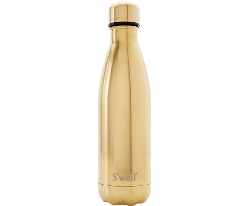Isolierflasche Bottle, Flasche: Rostfreier Edelstahl, bes, Deckel: Edelstahl, Goldfarben, Edelstahl, 500 ml