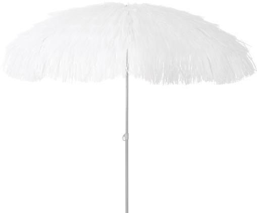 Ombrellone Hawaii, Rivestimento: poliestere, Bianco, Ø 200 x Alt. 210 cm