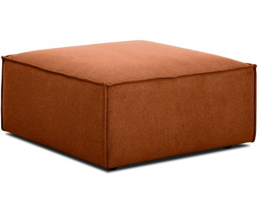 Sofa-Hocker Lennon, Bezug: Polyester 35.000 Scheuert, Gestell: Massives Kiefernholz, Spe, Füße: Kunststoff, Webstoff Terrakotta, 88 x 43 cm