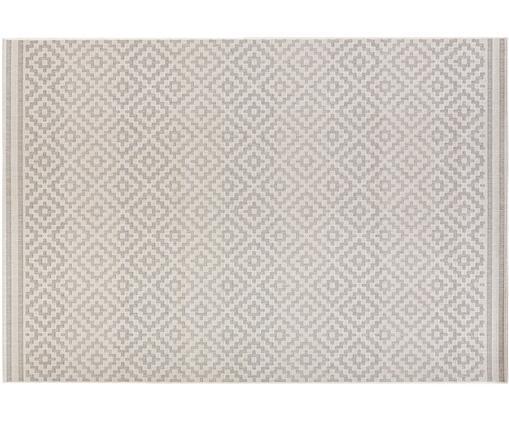 Dywan wewnętrzny/zewnętrzny Meadow Raute, Szary, beżowy, S 80 x D 150 cm (Rozmiar XS)
