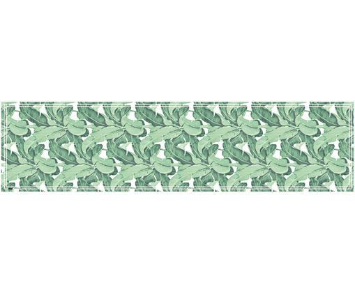 Tapis de cuisine en vinyle Mogli, Tons verts, blanc