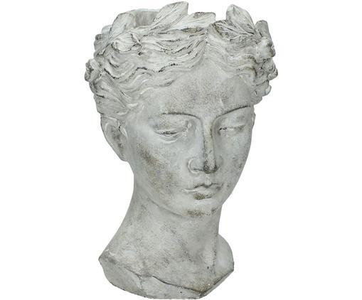 Portavaso Pass, Cemento, Grigio, Ø 18 x Alt. 27 cm