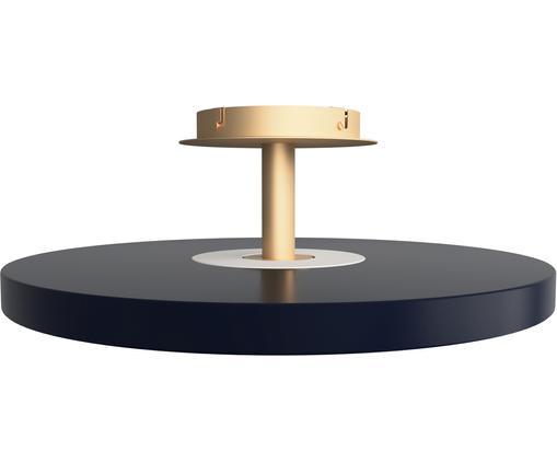 Plafonnier LED design Asteria, Anthracite, couleur dorée