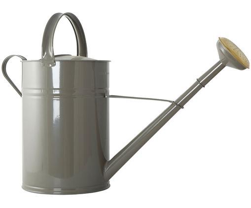 Annaffiatoio Nanny, Metallo verniciato, Grigio ottonato, Larg. 22 x Alt. 45 cm