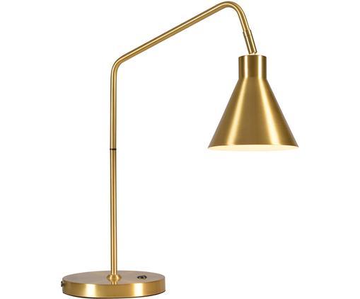 Lampe de bureau en métal doré Lyon, Couleur dorée