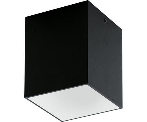 LED Deckenspot Marty, Metall, pulverbeschichtet, Schwarz,Weiß, 10 x 12 cm