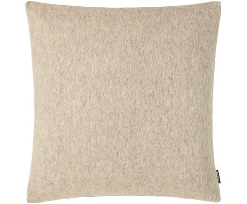 Wollfilz-Kissenhülle Now in Hellbeige, 65% Wolle, 35% Polyester, Sandfarben, 40 x 40 cm