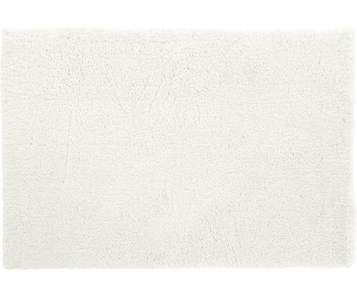 Alfombra mullida de pelo largo Leighton, Parte superior: 100%poliéster (microfibr, Reverso: 100%poliéster, Crema, An 120 x L 180 cm (Tamaño S)