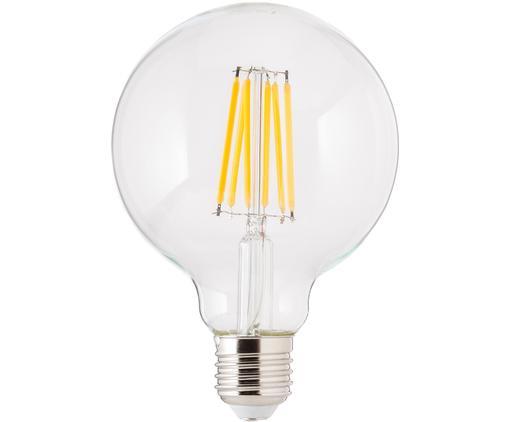 Dimmbares LED Leuchtmittel Edom (E27 / 8Watt), Leuchtmittelschirm: Glas, Leuchtmittelfassung: Aluminium, Transparent, Ø 10 x H 14 cm