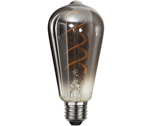 Żarówka LED Blacked (E27 / 4W) , Czarny, Ø 6 x W 14 cm