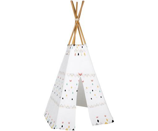 Tipi pour enfant Foxes, Blanc, multicolore