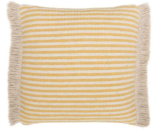 Cuscino Abigail, Giallo, beige chiaro