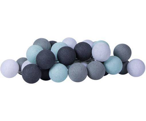 Girlanda świetlna LED Colorain, Jasny niebieski, odcienie szarego, biały, D 230 x W 10 cm