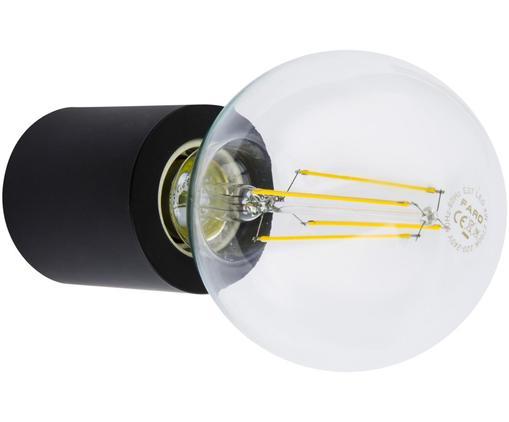 Applique dimmerabile senza lampadina Multi, Alluminio verniciato, Nero opaco, Ø 6 x Prof. 7 cm