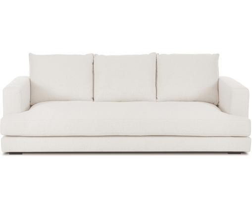Sofa Tribeca (3-Sitzer), Bezug: Polyester 25.000 Scheuert, Sitzfläche: Schaumpolster, Fasermater, Gestell: Massives Kiefernholz, Füße: Massives Buchenholz, lack, Webstoff Beige, B 228 x T 104 cm