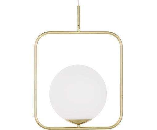 Lampa wisząca Daphne, Biały, mosiądz, S 38 x W 52 cm