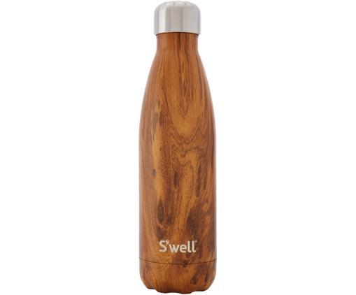 Trinkflasche Bottle, Braun, Edelstahl