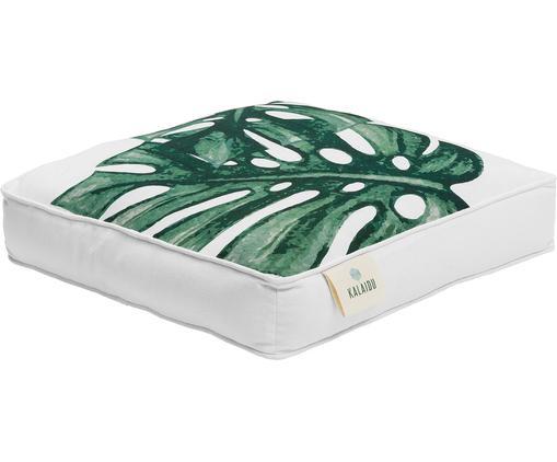 Sitzkissen Tropics, Hülle: 100% Baumwolle, Grün, Weiß, 45 x 45 cm