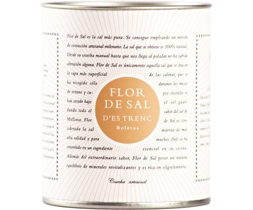 Gewürzsalz Flor de Sal d´Es Trenc (Pilze), Dose: Pappmembran, Metall, Creme, Goldfarben, Braun, 150 g