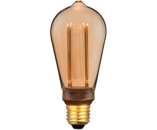 Bombilla LED Colors Drop (E27/5W), Ámbar, transparente