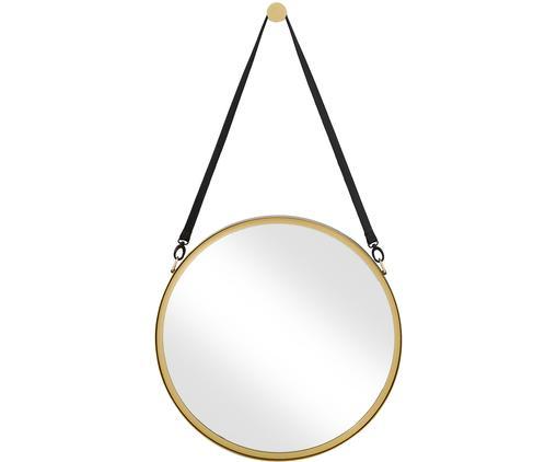 Espejo de pared Liz, Espejo: cristal, Dorado, Ø 60 cm
