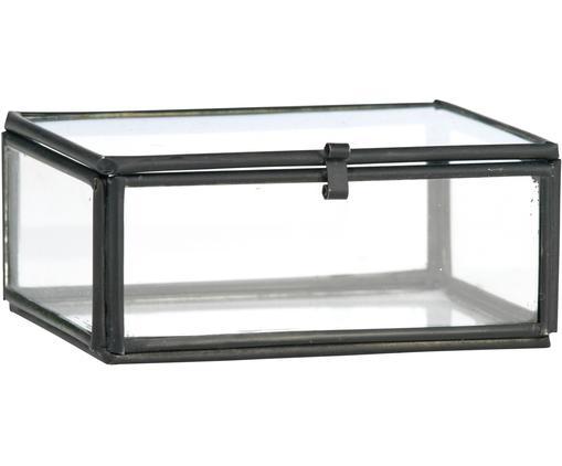 Portagioie Ivey, Struttura: metallo rivestito, Nero, Larg. 9 x Alt. 4 cm