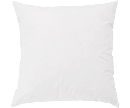 Relleno de cojín Komfort, 60x60, Funda: percal Mako, 100%algodón, Blanco, An 60 x L 60 cm