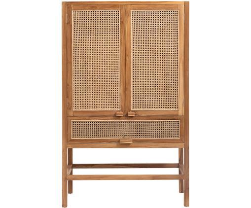Szafka Aising, Korpus: drewno tekowe, naturalny, Drewno tekowe, S 100 x W 160 cm