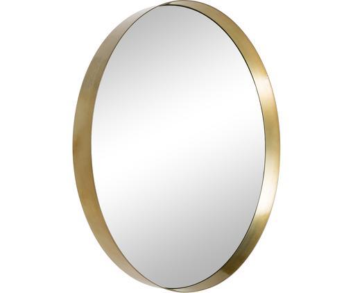 Espejo de pared redondo Metal, Dorado, espejo, Ø 30 cm