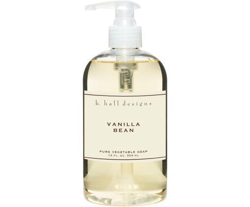 Flüssige Handseife Vanilla Bean (Vanille & Tonkabohne), Transparent, Ø 7 x H 16 cm