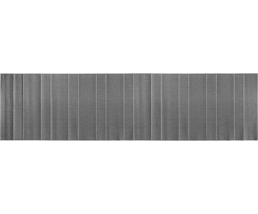 In- en outdoor loper Sunshine, Grijs, beige, 80 x 300 cm
