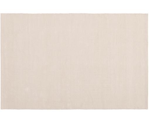 Ručně tkaný bavlněný koberec Agneta, Šedobéžová