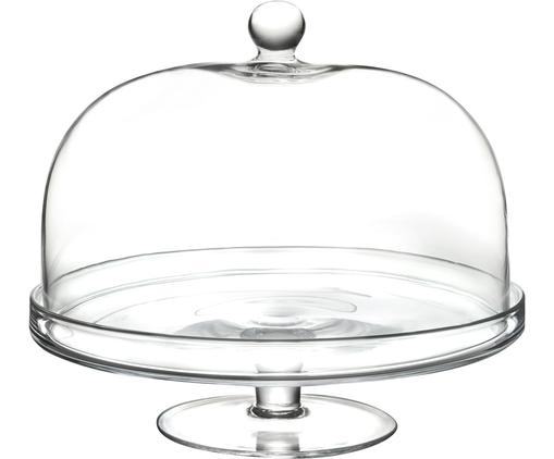 Kristall-Tortenplatte Lia, Luxion-Kristallglas, Transparent, Ø 30 x H 26 cm