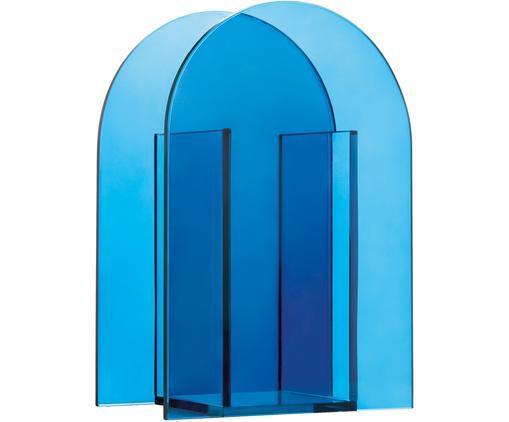 Vaso in vetro Transparence, Vetro, Blu, Larg. 14 x Alt. 20 cm