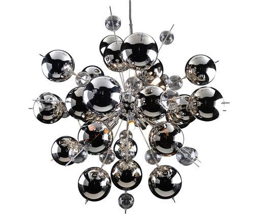 Lampa wisząca chromowana Explosion, Chrom, Ø 65 x W 65 cm