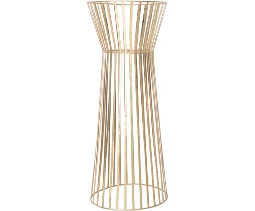 Supporto per vaso Gold, Metallo rivestito, Ottonato, Ø 34 x Alt. 86 cm