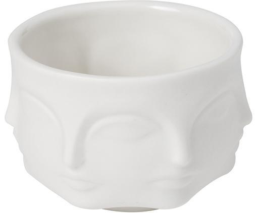 Kleines Designer-Dipschälchen Muse, Porzellan, Weiß, Ø 7 cm