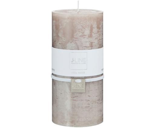 Vela pilar Topo, Parafina, Beige, Ø 7 x Al 15 cm